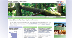 BC Travel & Tourism, Accommodations and Things to do in BC